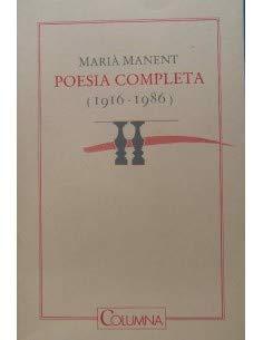 9788486433178: Poesia completa: (1916-1986) (Columna)
