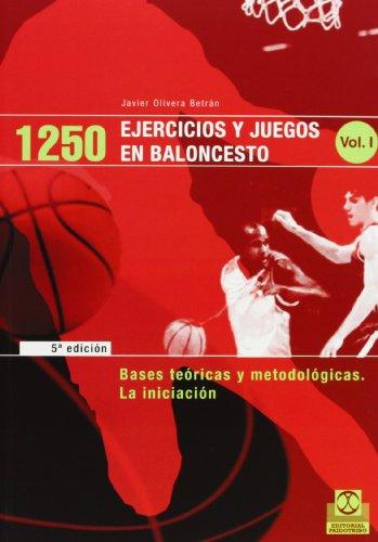 9788486475932: 1250 Ejercicios y Juegos de Baloncesto - 3 Tomos (Spanish Edition)