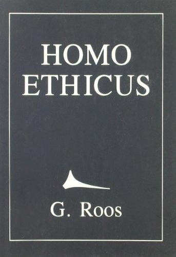 9788486505769: Homo Ethicus (Spanish Edition)