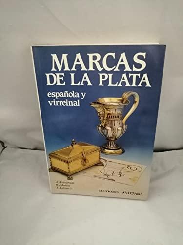 9788486508289: Marcas de plata española y virreinal