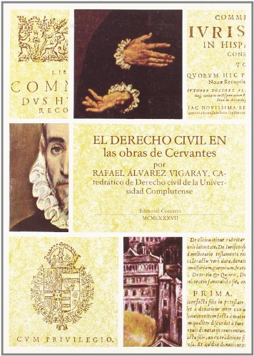 9788486509163: El derecho civil en las obras de Cervantes (Spanish Edition)