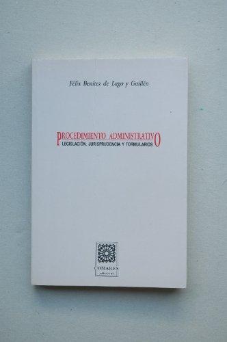Procedimiento administrativo: Benítez de Lugo