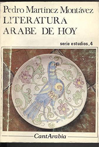 9788486514136: Literatura arabe de hoy