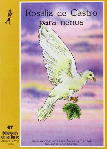 9788486587260: Rosalía de Castro para nenos (Alba y mayo, poesía) (Galician Edition)