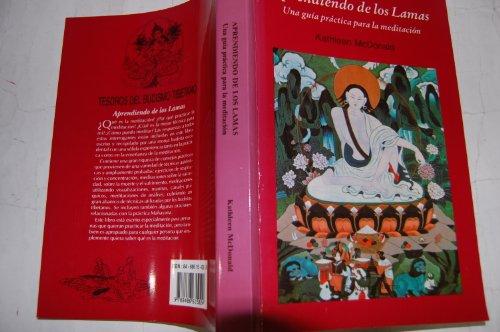 9788486615024: Aprendiendo de los lamas : una guia practica para la meditacion
