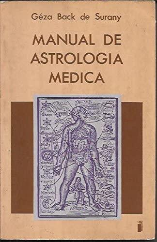 9788486668068: MANUAL DE ASTROLOGIA MEDICA