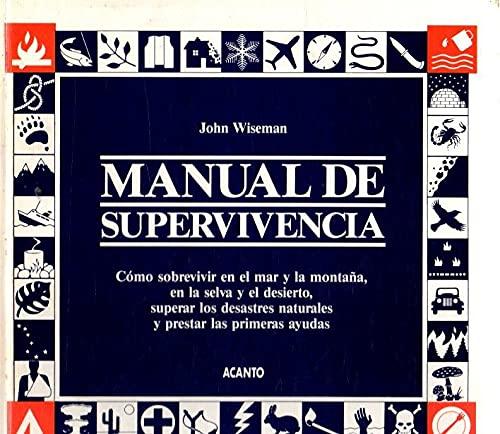 9788486673109: Manual de supervivencia