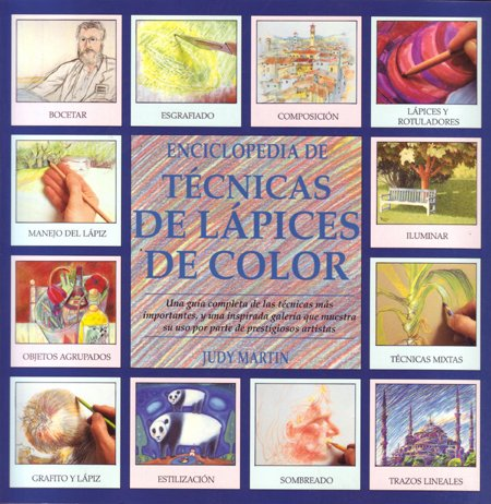 9788486673864: Enciclopedia de técnicas de lápices de color
