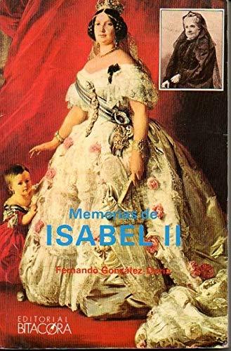 9788486832902: Memorias de Isabel II (Coleccion Timonel) (Spanish Edition)