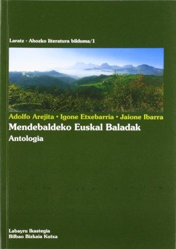 9788486833794: Mendebaldeko Euskal Baladak - Antologia (Laratz-Ahozko Literatura Bildu)