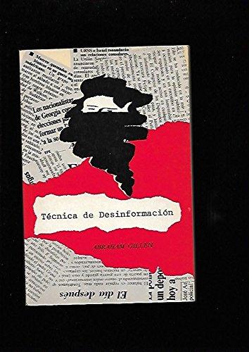 9788486864057: Tecnica de la desinformacion (al servicio de las clases dominantes): La manipulacion de los pueblos (Coleccion Actualidad) (Spanish Edition)