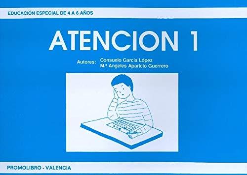 9788486880248: ATENCION 1 - EDUCACION ESPACIAL 4 A 6 AÐ