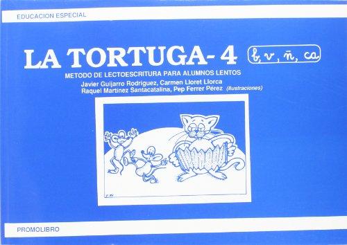 9788486880279: Tortuga 4, la - metodo de lectoescritura para alumnos lentos