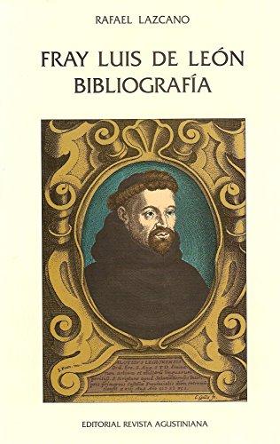 9788486898274: Fray Luis de León bibliogfafia