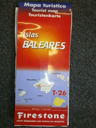9788486907105: Balearics/Mallorca (Spanish National & Regional Maps) (English, French and Spanish Edition)