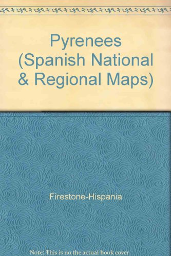 Pyrenees (Spanish National & Regional Maps) (Spanish: Firestone-Hispania