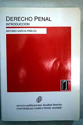 9788486926762: Derecho penal : introduccion
