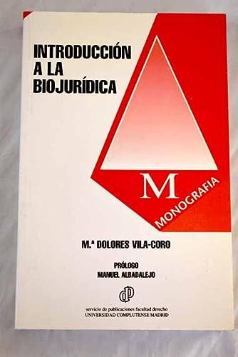 9788486926885: Introducción a la biojurídica (Monografía / Facultad de Derecho, Universidad Complutense de Madrid) (Spanish Edition)