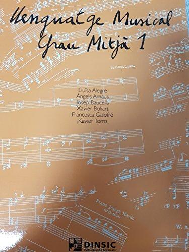 9788486949228: Llenguatge Musical de Grau Mitjà 1