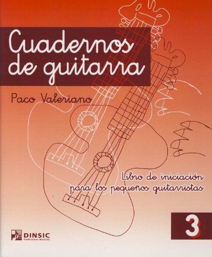 9788486949754: Cuadernos de guitarra 3