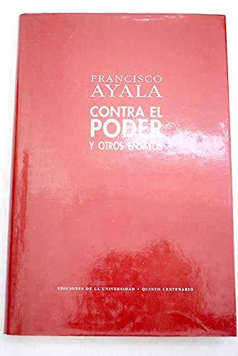 9788486981662: Contra el poder y otros ensayos (Spanish Edition)
