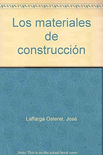 9788487005039: Los materiales de construcción