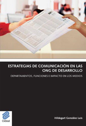 9788487082313: Estrategias De Comunicación En Las Ong De Desarrollo