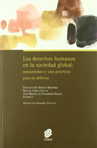 9788487082498: Los derechos humanos en la sociedad global: mecanismos y vías prácticas para su defensa: Prólogo de Fernando Savater