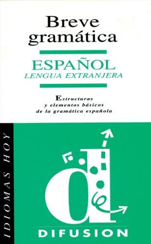 9788487099755: Breve gramatica española