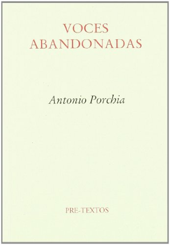 9788487101571: Voces abandonadas (Ensayo) (Spanish Edition)
