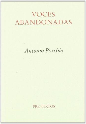 9788487101571: Voces abandonadas (Ensayo) (Spanish Edition)