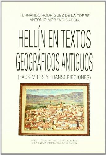 9788487136610: Hellin en Textos Geograficos Antiguos (Facsimiles y Transcripciones)