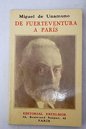 De Fuerteventura a París: Miguel de Unamuno