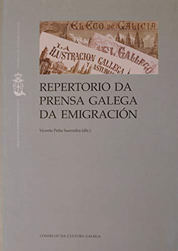 9788487172304: Repertorio da prensa galega da emigración (Galician Edition)