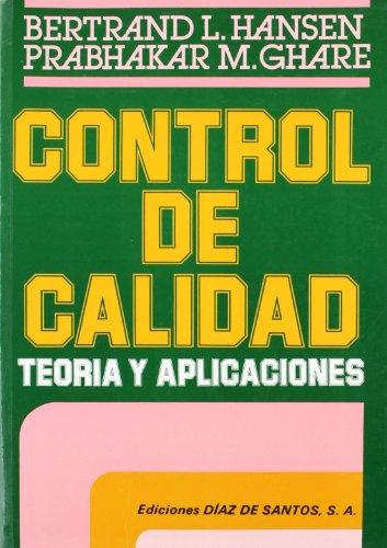 9788487189319: Control de calidad: Teoría y aplicaciones