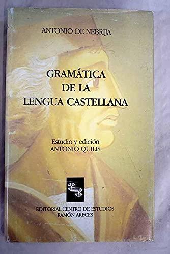 9788487191312: Gramática de la lengua castellana