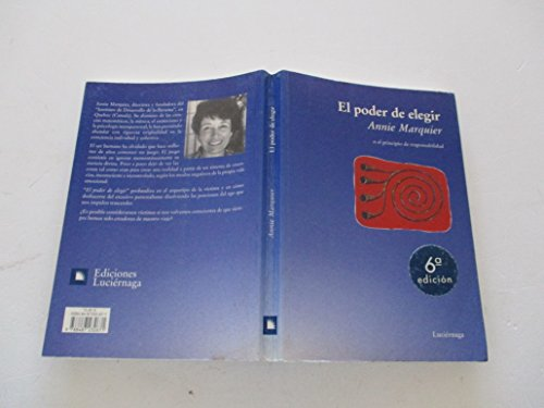 9788487232671: El Poder de Elegir (Spanish Edition)