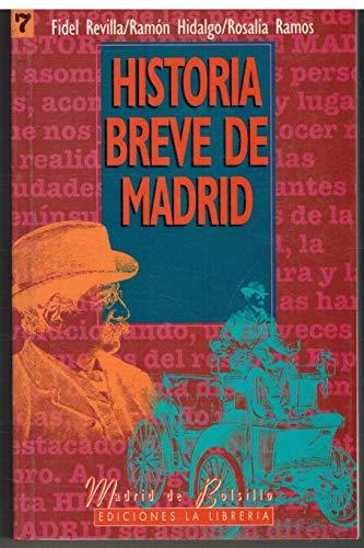 9788487290664: Historia breve de Madrid