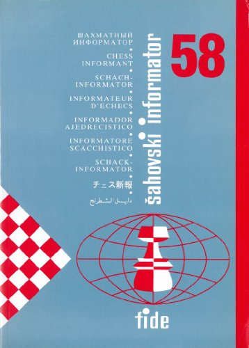 9788487301896: Chess Informant - ISSUE 58