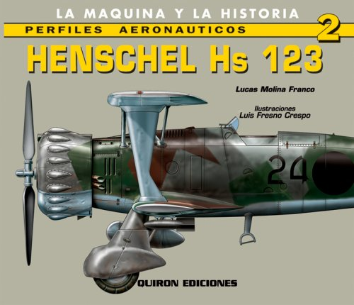 9788487314612: Henschel Hs 123 (English and Spanish Edition)
