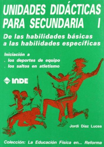 UNIDADES DIDACTICAS 01 SECUNDARIA: DIAZ LUCEA JORDI