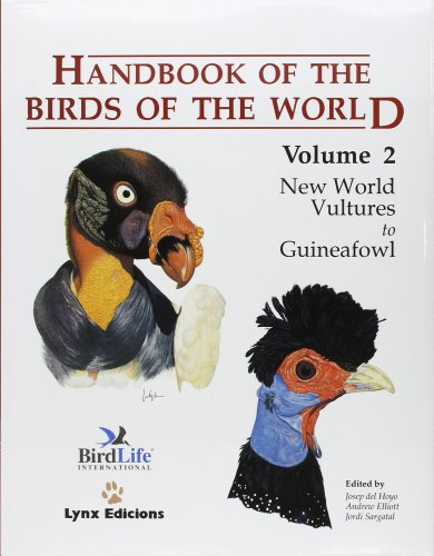 9788487334153: Handbook of the Birds of the World. Vol.2: New World Vultures to Guineafowl