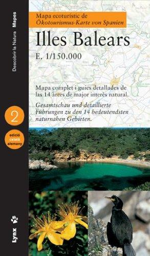 9788487334818: Mapa ecoturístic de les Illes Balears (català/alemany) (Descubrir la Naturaleza)