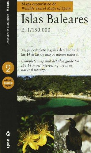 9788487334825: Mapa ecoturístico de las Islas Baleares (Castellano / Inglés): Balearic Islands (Descubrir la Naturaleza)