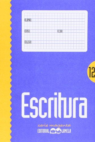 9788487383731: ESCRITURA LAMELA 12 MAGENTA
