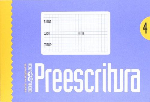 9788487383915: Preescritura - Cuaderno 4