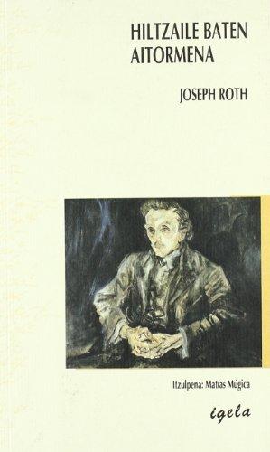 9788487484506: Hiltzaile Baten Aitormena (Literatura Igela)