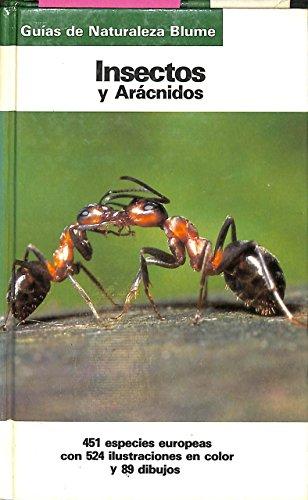 9788487535109: Insectos y aracnidos (guias de la naturaleza de blume)