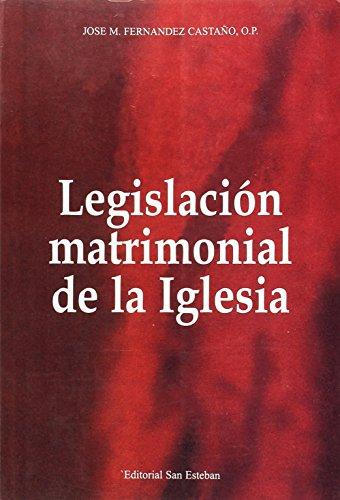 9788487557781: Legislación matrimonial de la Iglesia (Glosas) (Spanish Edition)