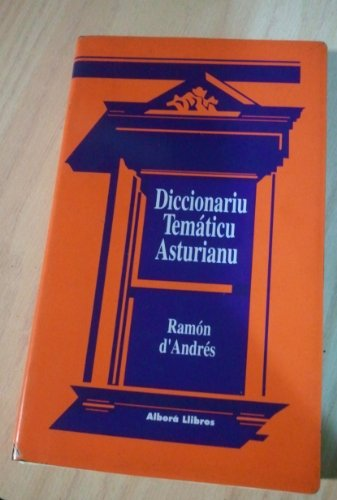 9788487562068: Diccionariu Temàticu Asturianu